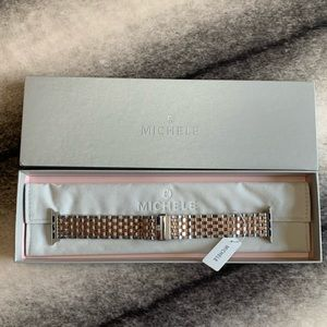 { Michele } Apple Watch Gold Band 38mm
